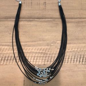 Rope accent necklace!